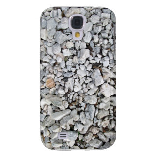 White and gray gravel texture samsung galaxy s4 case
