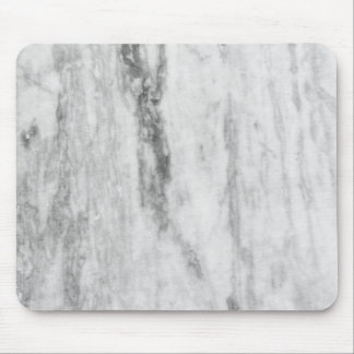 White And Gray Marble Texture Pattern Mouse Pad