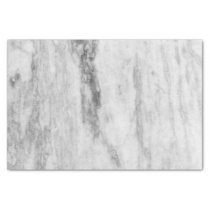 White And Gray Marble Texture Pattern Tissue Paper