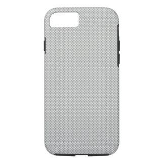 White and Grey Carbon Fiber Graphite iPhone 7 Case
