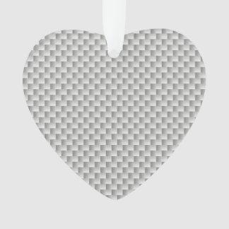 White and Grey Kevlar Carbon Fiber