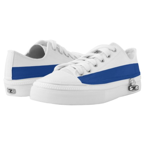White and Kent Blue Two-Tone Lo-Top