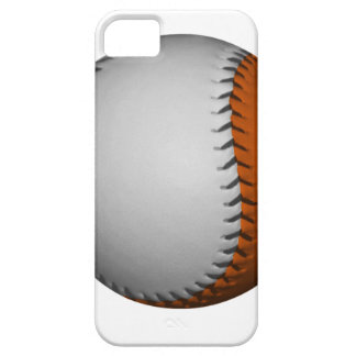 White and Orange Baseball iPhone 5 Covers