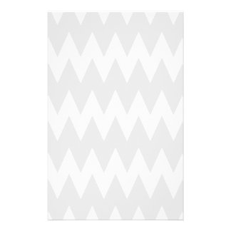 White and Pastel Gray Zigzags. Flyer