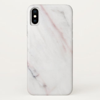 White and Pink Marble Iphone Case