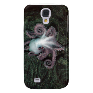 White and Pink Octopus Galaxy S4 Covers