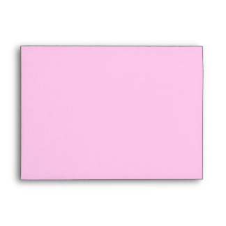 White and pink peony bud customizable envelopes