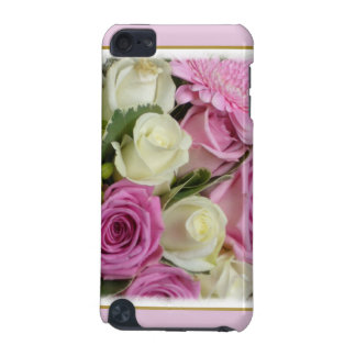 White and Pink Roses iPod Touch (5th Generation) Cover