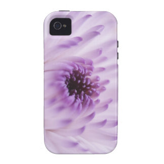 White and Purple Flower iPhone 4 Cover
