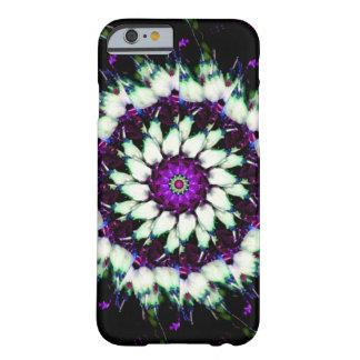 White and Purple Kaleidoscope Mandala iPhone 6 Case