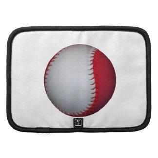 White and Red Baseball / Softball Organizer