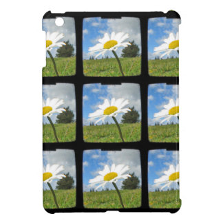 White and Yellow Daisy Case For The iPad Mini
