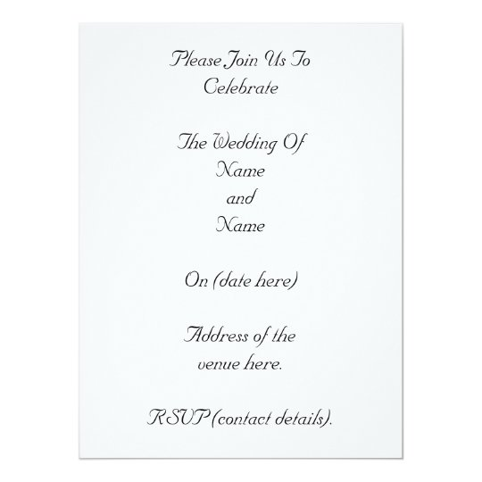 White and Yellow Flower. Wedding. Card