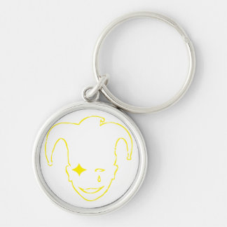 White And Yellow MTJ Keychain