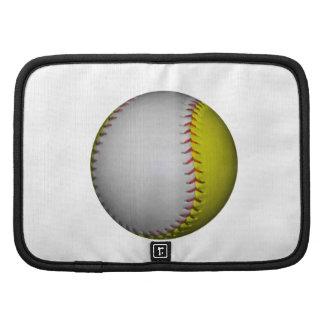 White and Yellow Softball / Baseball Organizers