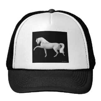White Andalusian Horse Hat