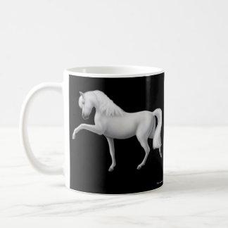 White Andalusian Horse Mug