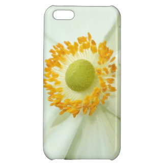 """White Anemone"" iPhone Case iPhone 5C Cover"