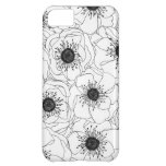 White Anemones Cover For iPhone 5C