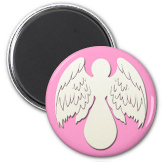 WHITE ANGEL REFRIGERATOR MAGNET