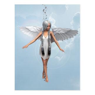 White Angel Postcard