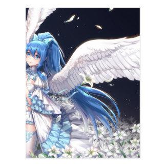 White Angel San Postcard