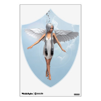 White Angel Wall Decal