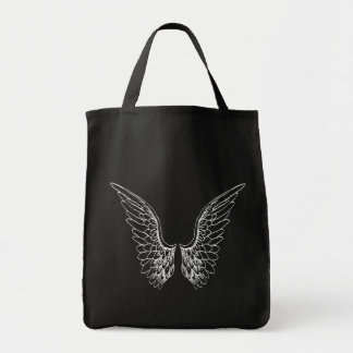 White Angel Wings Tote Bag