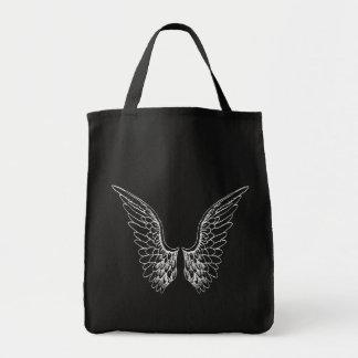 White Angel Wings Tote Bag