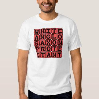 White Anglo Saxon Protestant, WASP Tshirts