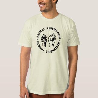white animal liberation xl T-Shirt