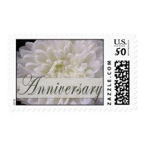 White Anniversary Postage Stamp