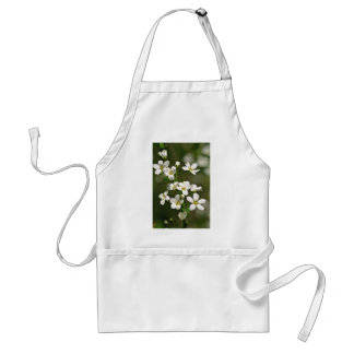 White Apple Blossoms flowers Aprons