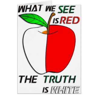White Apple Card