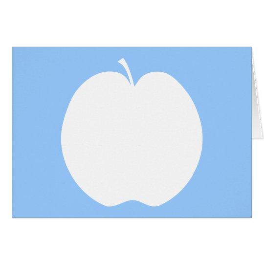 White Apple. Card