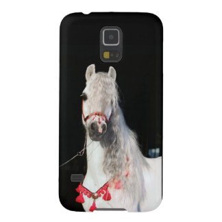 White Arabian Horse Cell Phone Cover