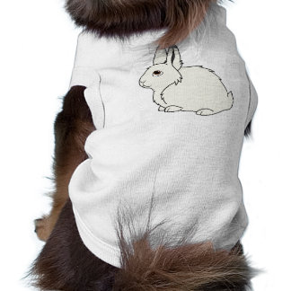 White Arctic Hare Shirt