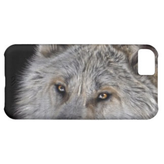White Arctic Wolf Eyes Wildlife Photo Cover For iPhone 5C