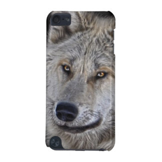 White Arctic Wolf Face Wildlife Portrait iPod Touch 5G Cover