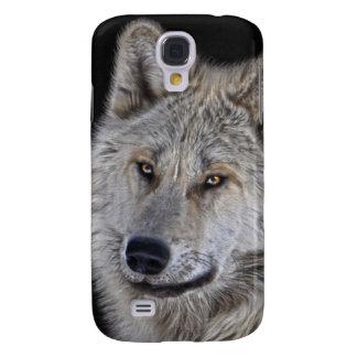 White Arctic Wolf Face Wildlife Portrait Samsung Galaxy S4 Case