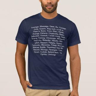 White around the world T-Shirt