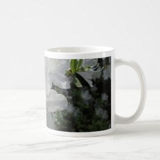 White Azalea Coffee Mug