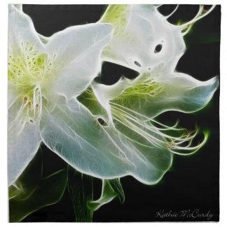 White Azalea Napkins