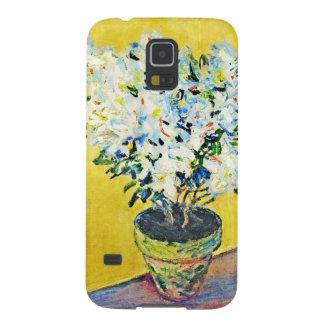 White Azaleas in a Pot Claude Monet Case For Galaxy S5