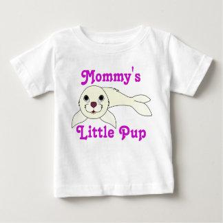 White Baby Seal Baby T-Shirt
