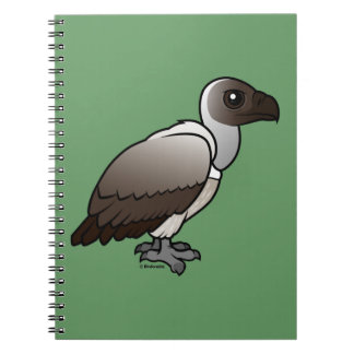 White-backed Vulture Spiral Notebook