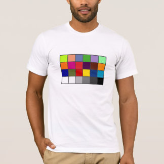 White Balance Color Chart T-Shirt