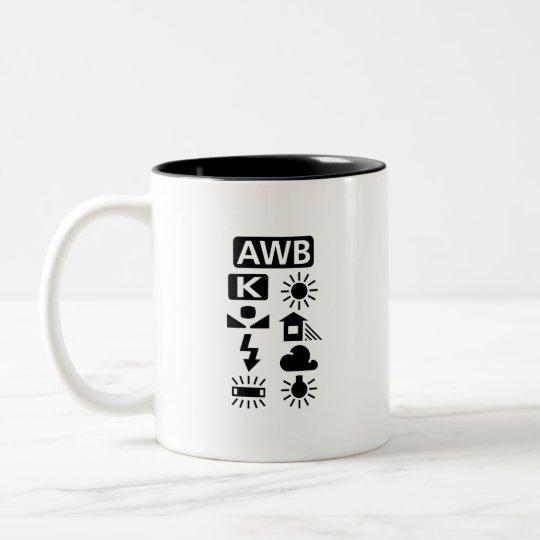 White Balance Pictogram Mug