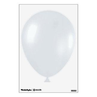 White Balloon Room Sticker