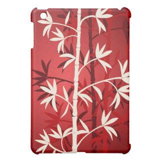 White bamboo red iPad mini covers